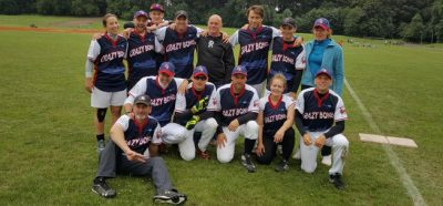 Gruppenfoto Crazy Bones in Köln Deutsch Slowpitch SoftballMeisterschaft